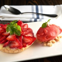 Strawberry-Meyer Lemon Tart